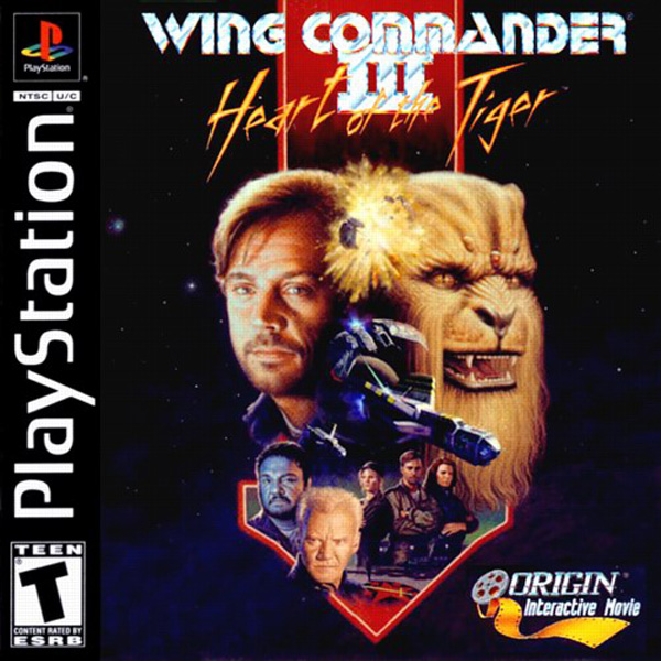 Wing Commander III / 3 - Playstation 1 / PS1 / PSX / Pal ...